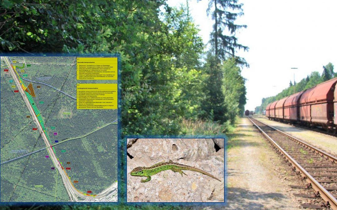Gleiserweiterung Chemiepark Gendorf