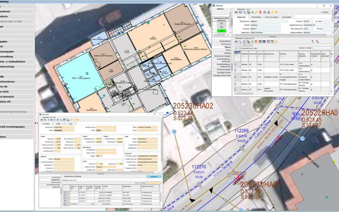 Gemeinde Chieming – Aufbau und Pflege eines geographischen Informationssystems (GIS)