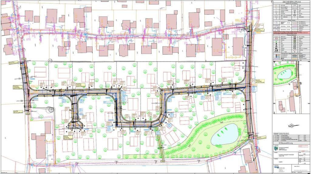"""Erschließung Baugebiet """"Hofer Straße"""""""