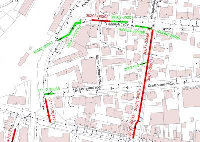 Kanalsanierung Traunstein in den Teilgebieten 1-4